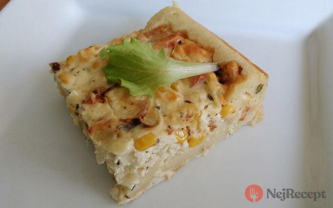 Recept Slaný koláč se zeleninovo-sýrovou náplní