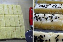 Příprava receptu Fenomenální slané sýrové tyčinky, krok 2