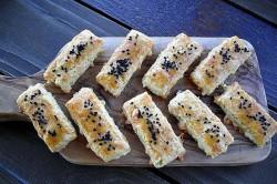 Příprava receptu Fenomenální slané sýrové tyčinky, krok 3