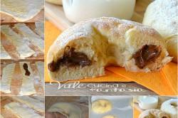 Příprava receptu Pečené buchty s nutelou z bramborového těsta, krok 2