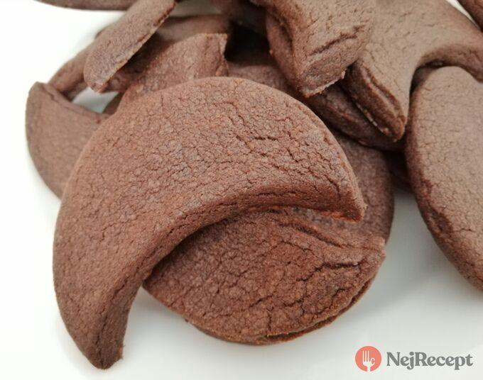 Recept Čokoládové půlměsíčky s chutí kávy
