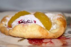 Příprava receptu Tvarohové koláčky s ovocem, krok 7