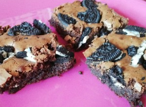 Recept Brownies s Oreo sušenkami