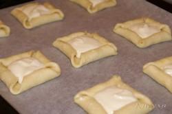 Příprava receptu Tvarohové koláčky s ovocem, krok 4