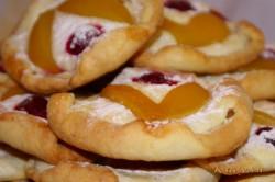 Příprava receptu Tvarohové koláčky s ovocem, krok 8