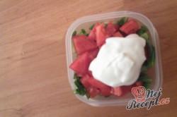Příprava receptu Teplý bulgurový salát s tuňákem, krok 4
