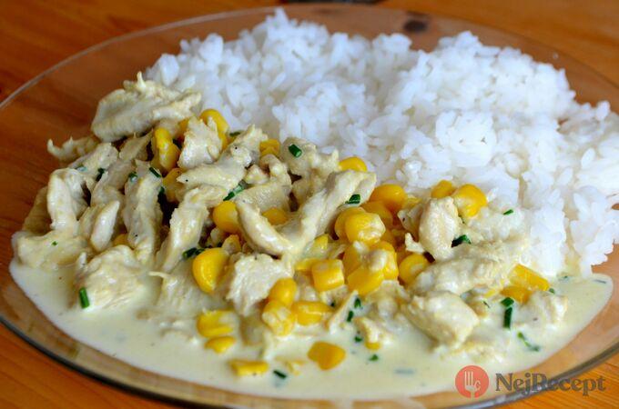 Recept Krůtí směs s kukuřicí
