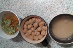 Příprava receptu Kuskus se sójovým masem, krok 1