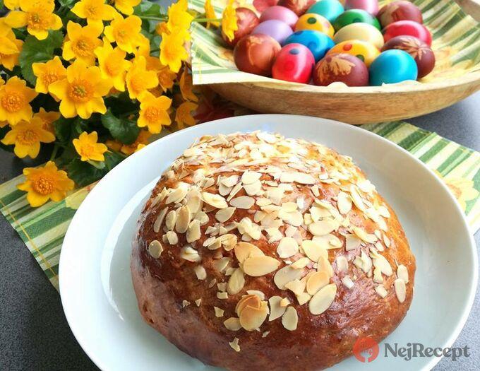 Recept Velikonoční mazanec
