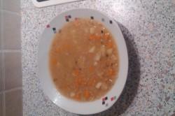 Příprava receptu Polévka z červené čočky s bramborem, krok 1