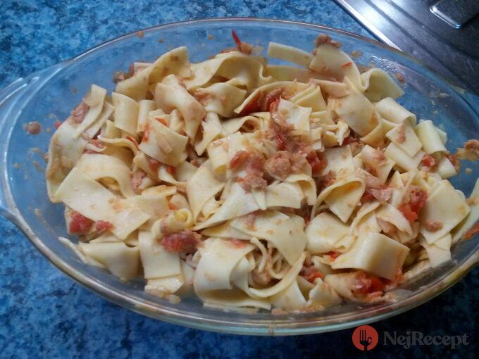 Recept Těstoviny s tuňákem