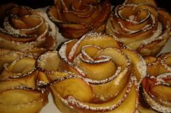 Příprava receptu Fenomenální růžičky z jablek a listového těsta, krok 6