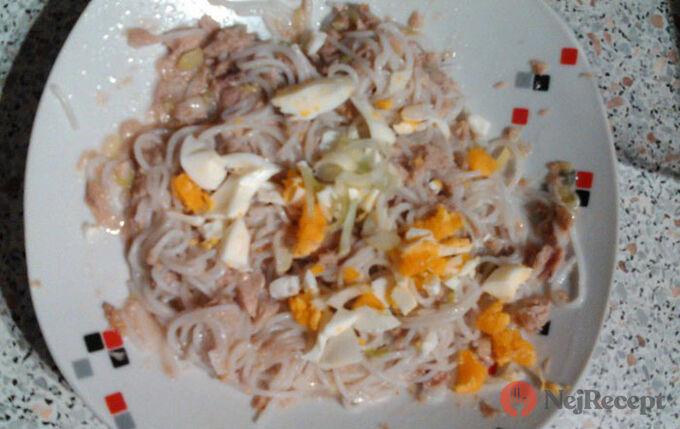 Recept Bezlepkové rýžové nudle s tuňákem