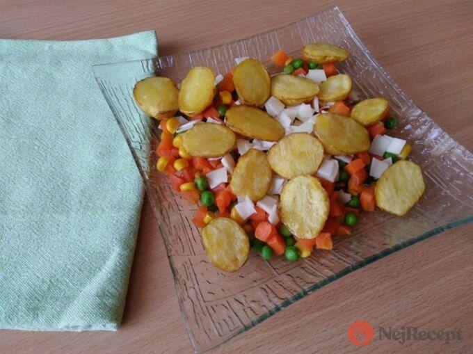 Recept Brambůrky na sýrové zelenině
