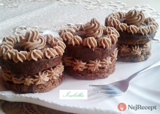 Recept Sacher mini dortíky - FOTOPOSTUP