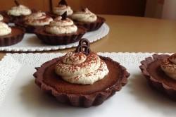 Příprava receptu Čokoládové tartaletky, krok 1