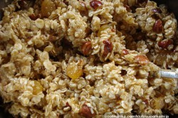 Příprava receptu Domácí müsli tyčinky bez přidaných ,,éček,,, krok 1
