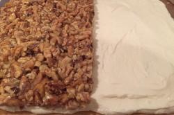 Příprava receptu Fenomenální medové řezy s ořechy, krok 13