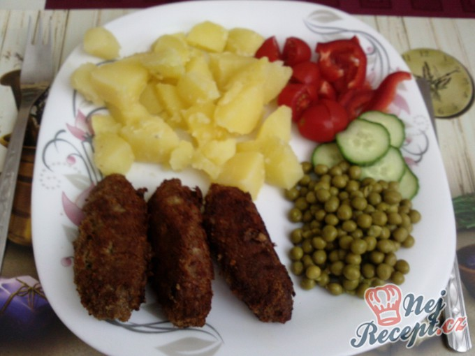 Recept Čevabčiči s bramborem a zeleninou