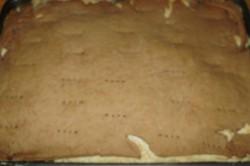 Příprava receptu Kokosové řezy se žloutkovým krémem, krok 5