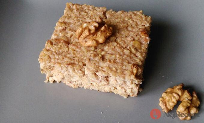 Recept Jáhlový nákyp s vlašskými ořechy