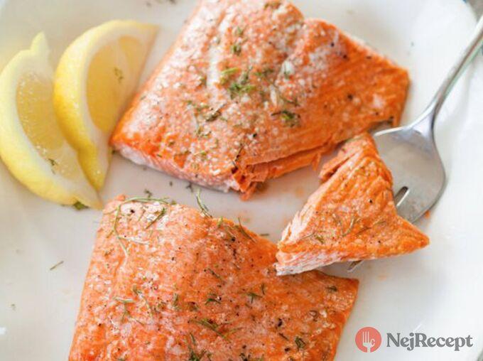 Recept Jak správně upéct lososa v troubě za 5 minut?