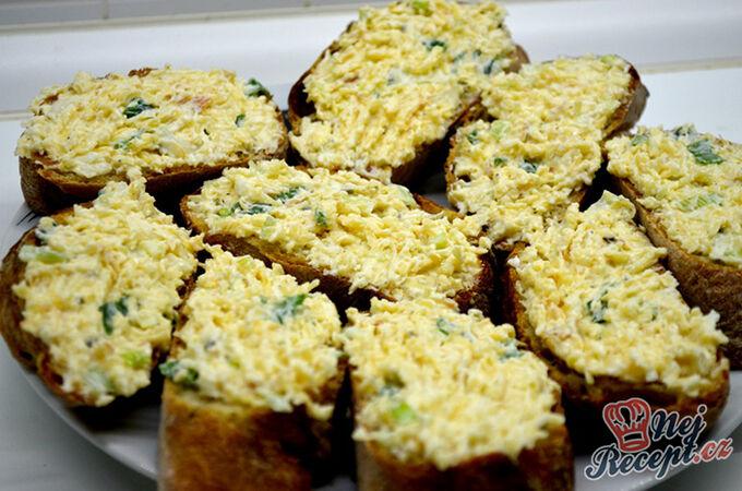 Recept Pomazánka z uzeného sýra