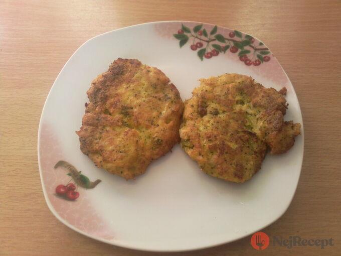 Recept Květákovo brokolicové placičky