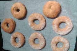 Příprava receptu Donuty – těsto, krok 2