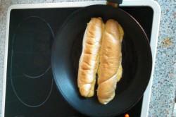 Příprava receptu Rohlík klasika - vejce, sýr, krok 2
