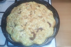 Příprava receptu Tvarohovo švestkový koláček bez kynutí, krok 7