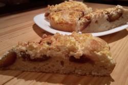 Příprava receptu Tvarohovo švestkový koláček bez kynutí, krok 9