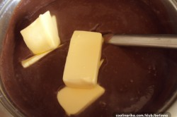 Příprava receptu Čokoládové ŽERBO řezy, krok 2