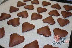 Příprava receptu Plněné perníčky v čokoládě - FOTOPOSTUP, krok 10