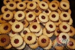 Příprava receptu Linecké koláčky, krok 1