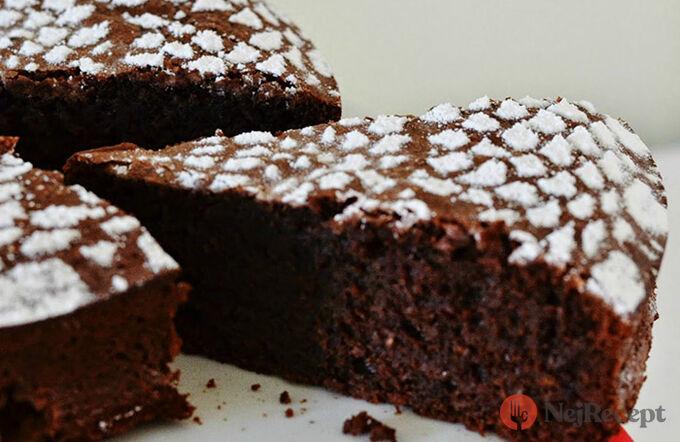 Recept Čokoládový dort bez použití mouky