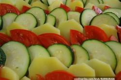 Příprava receptu Gratinovaná zelenina, krok 1