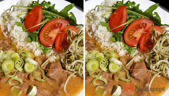 Recept Krůtí perkelt s rýži a zeleninou