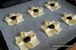Příprava receptu Kytičky z listového těsta, krok 3