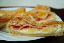 Příprava receptu Rychlovka z listového těsta, krok 2