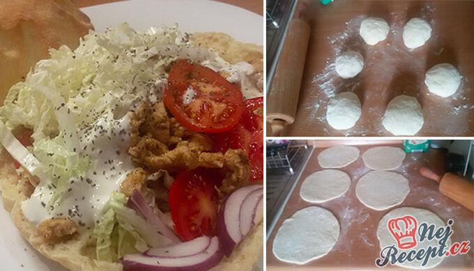 Recept Domácí kuřecí kebab - FOTOPOSTUP