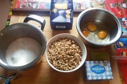 Příprava receptu Křupavé oříšky v karamelu a oplatce - GRILÁŽKY, krok 1