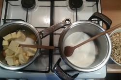 Příprava receptu Křupavé oříšky v karamelu a oplatce - GRILÁŽKY, krok 2