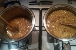 Příprava receptu Křupavé oříšky v karamelu a oplatce - GRILÁŽKY, krok 3