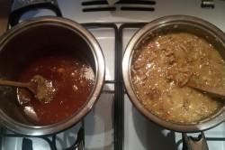 Příprava receptu Křupavé oříšky v karamelu a oplatce - GRILÁŽKY, krok 4