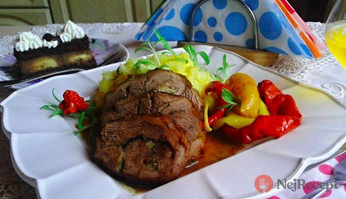 Recept Pečené rolované beraní stehno s tymiánem - FOTOPOSTUP