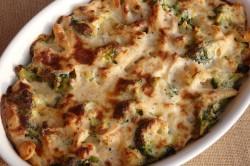 Příprava receptu Zapečené těstoviny s brokolicí a kuřecím masem, krok 1