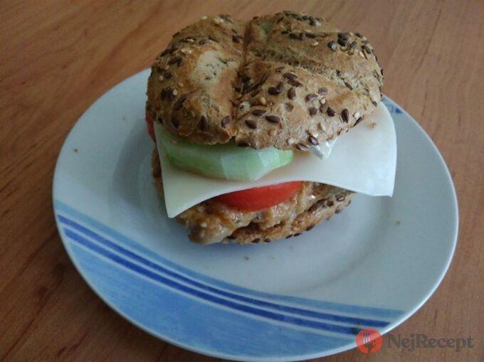 Recept Kuřecí burger za 15 minut