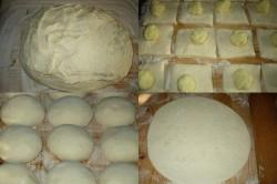 Příprava receptu Babiččiny plněné bramborové placky, krok 1