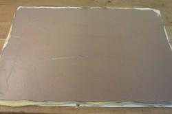 Příprava receptu Nejjednodušší čokoládová roláda, krok 4